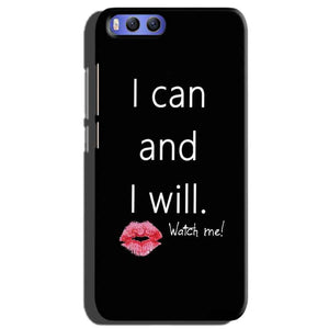 Xiaomi Mi 6 Mobile Covers Cases i can and i will Lips - Lowest Price - Paybydaddy.com