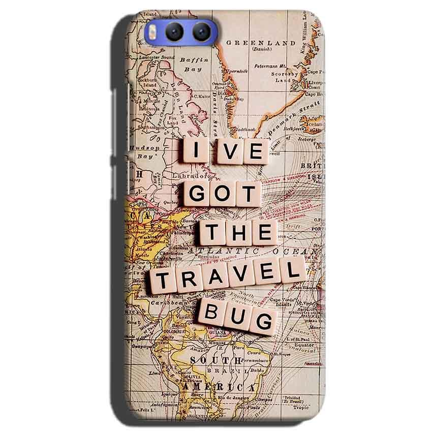 Xiaomi Mi 6 Mobile Covers Cases Live Travel Bug - Lowest Price - Paybydaddy.com