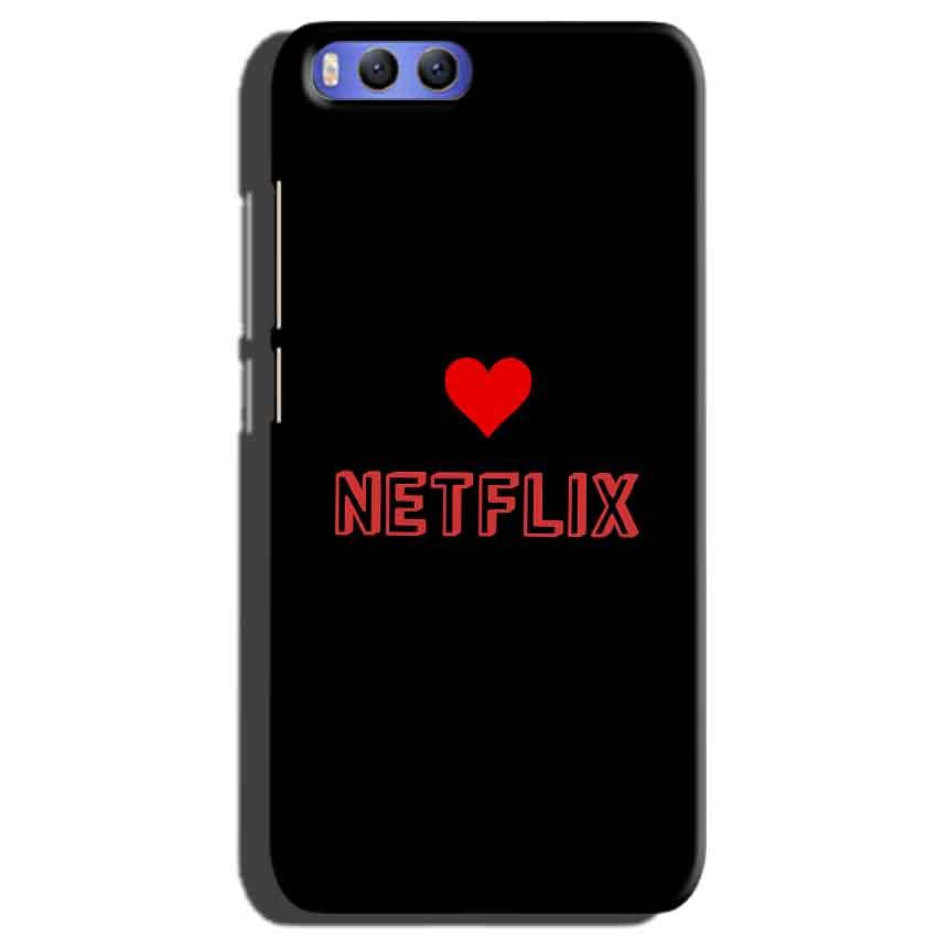 Xiaomi Mi 6 Mobile Covers Cases NETFLIX WITH HEART - Lowest Price - Paybydaddy.com