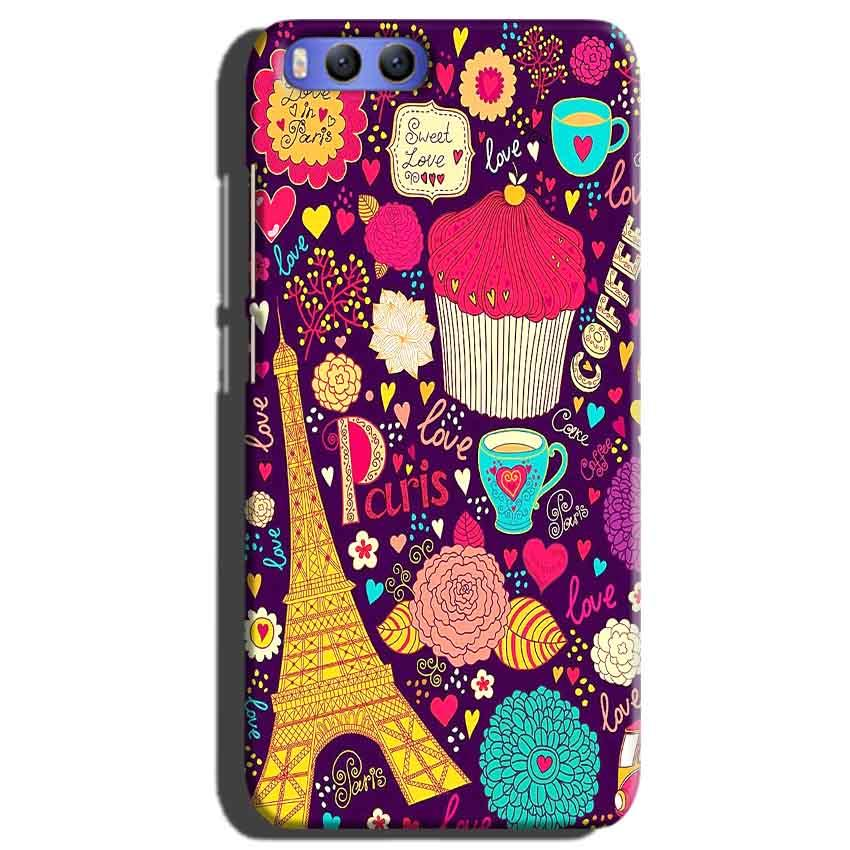 Xiaomi Mi 6 Mobile Covers Cases Paris Sweet love - Lowest Price - Paybydaddy.com