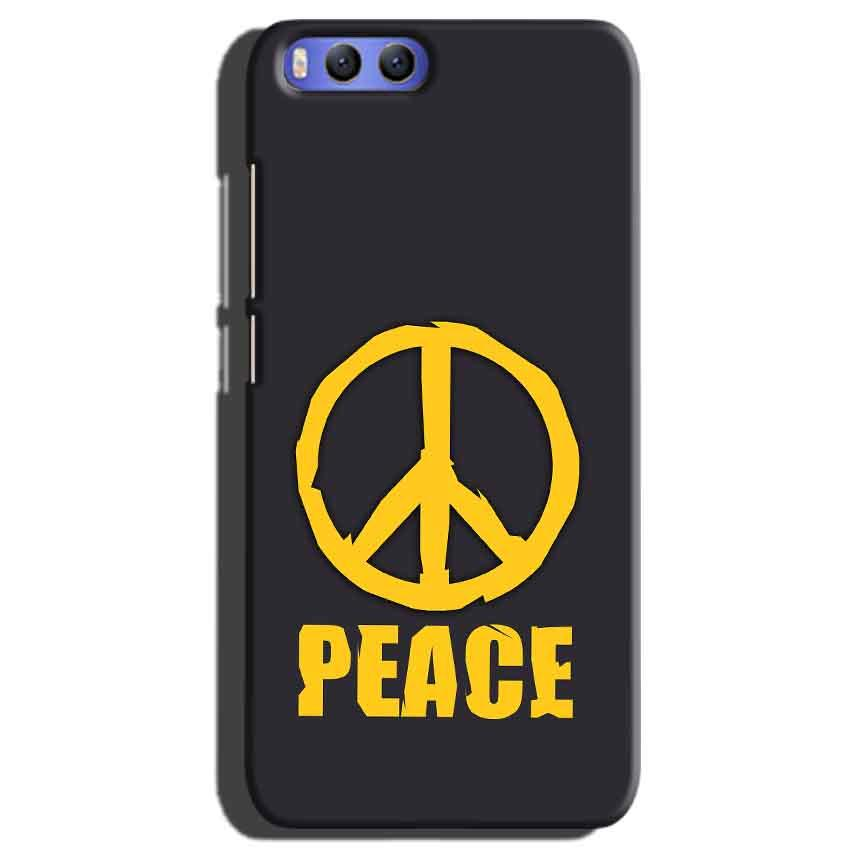 Xiaomi Mi 6 Mobile Covers Cases Peace Blue Yellow - Lowest Price - Paybydaddy.com