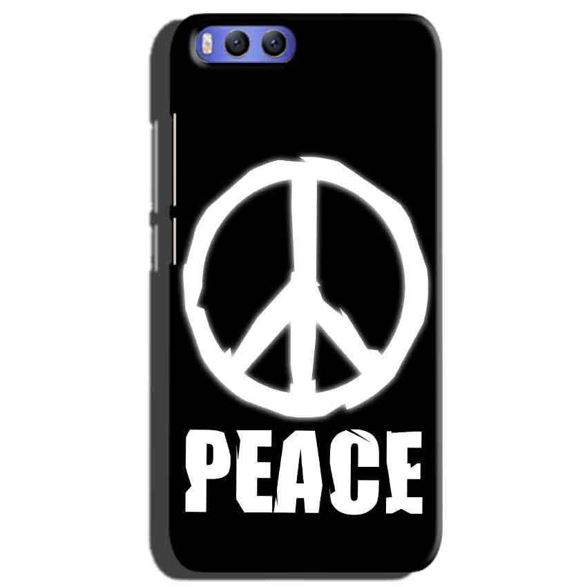Xiaomi Mi 6 Mobile Covers Cases Peace Sign In White - Lowest Price - Paybydaddy.com