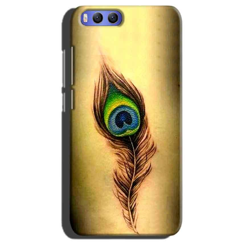 Xiaomi Mi 6 Mobile Covers Cases Peacock coloured art - Lowest Price - Paybydaddy.com
