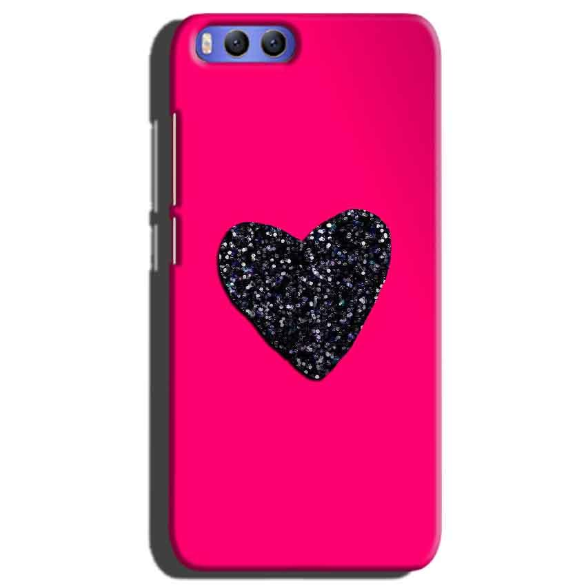 Xiaomi Mi 6 Mobile Covers Cases Pink Glitter Heart - Lowest Price - Paybydaddy.com