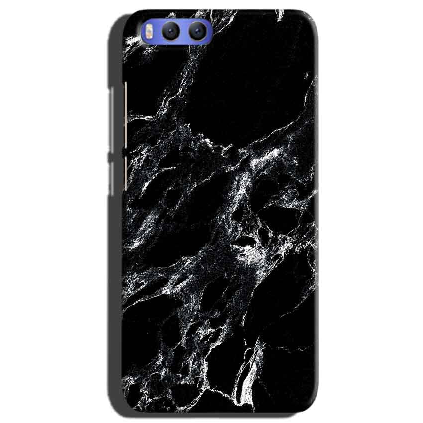 Xiaomi Mi 6 Mobile Covers Cases Pure Black Marble Texture - Lowest Price - Paybydaddy.com