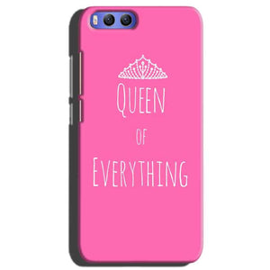 Xiaomi Mi 6 Mobile Covers Cases Queen Of Everything Pink White - Lowest Price - Paybydaddy.com