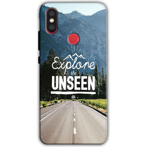 Xiaomi Mi A2 Mi 6X Mobile Covers Cases Explore UNSEEN - Lowest Price - Paybydaddy.com