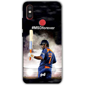 Xiaomi Mi A2 Mi 6X Mobile Covers Cases MS dhoni Forever - Lowest Price - Paybydaddy.com