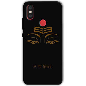 Xiaomi Mi A2 Mi 6X Mobile Covers Cases Om Namaha Gold Black - Lowest Price - Paybydaddy.com