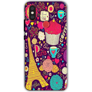 Xiaomi Mi A2 Mi 6X Mobile Covers Cases Paris Sweet love - Lowest Price - Paybydaddy.com