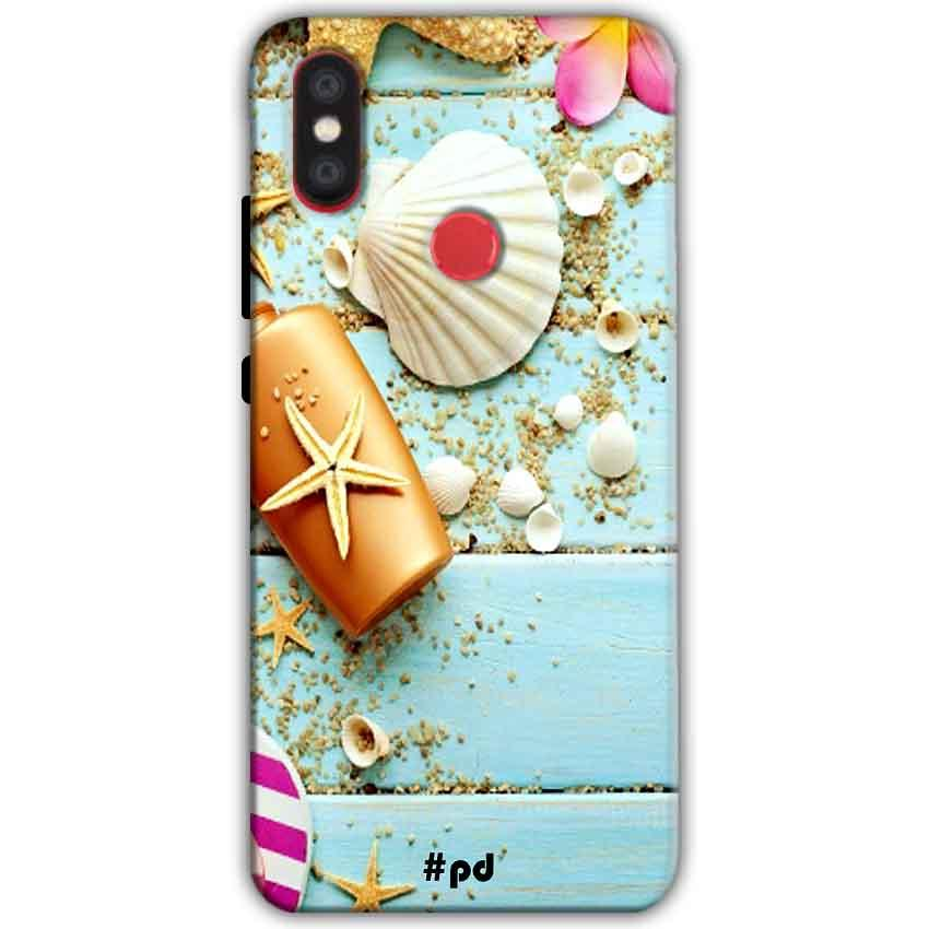 Xiaomi Mi A2 Mi 6X Mobile Covers Cases Pearl Star Fish - Lowest Price - Paybydaddy.com