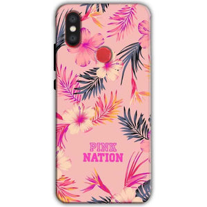 Xiaomi Mi A2 Mi 6X Mobile Covers Cases Pink nation - Lowest Price - Paybydaddy.com