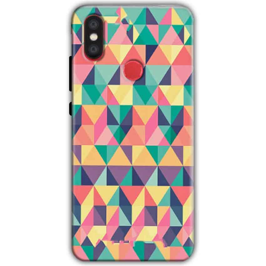 Xiaomi Mi A2 Mi 6X Mobile Covers Cases Prisma coloured design - Lowest Price - Paybydaddy.com
