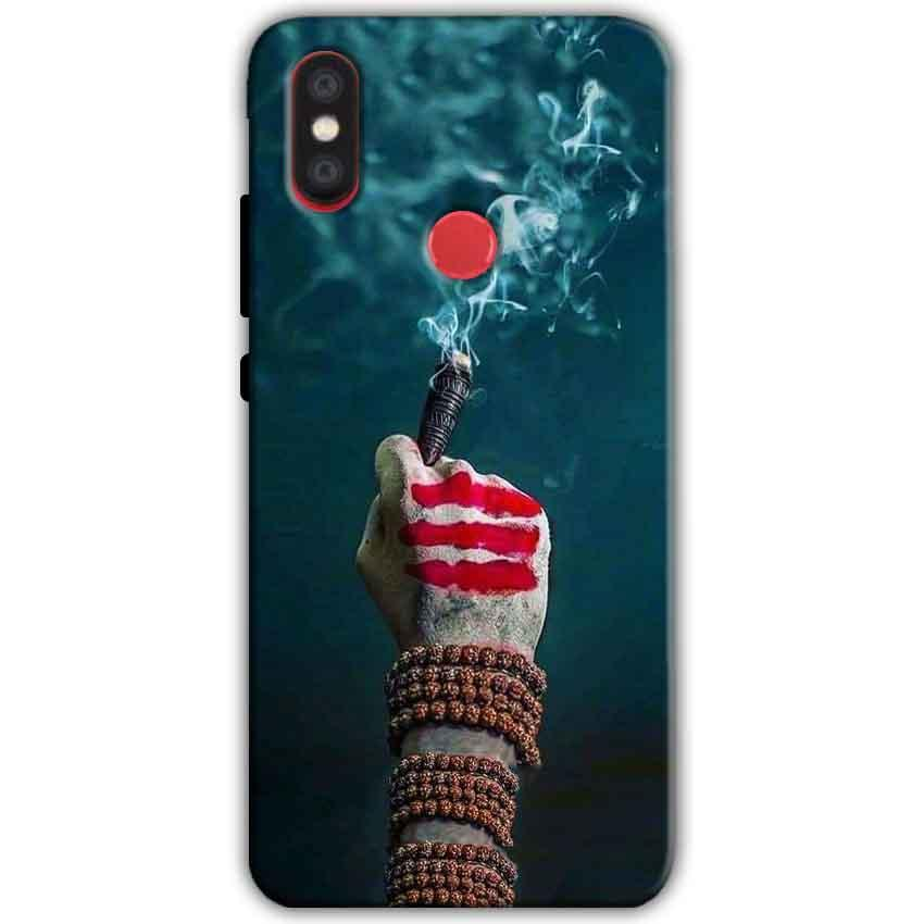 Xiaomi Mi A2 Mi 6X Mobile Covers Cases Shiva Hand With Clilam - Lowest Price - Paybydaddy.com