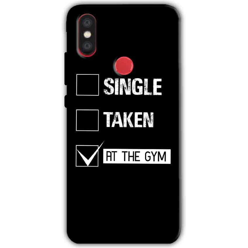 Xiaomi Mi A2 Mi 6X Mobile Covers Cases Single Taken At The Gym - Lowest Price - Paybydaddy.com