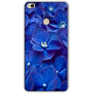 Xiaomi Mi Max 2 Mobile Covers Cases Blue flower - Lowest Price - Paybydaddy.com
