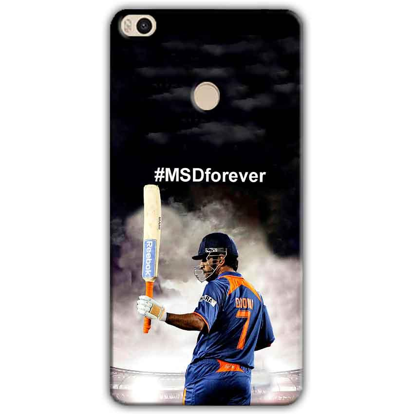 Xiaomi Mi Max 2 Mobile Covers Cases MS dhoni Forever - Lowest Price - Paybydaddy.com