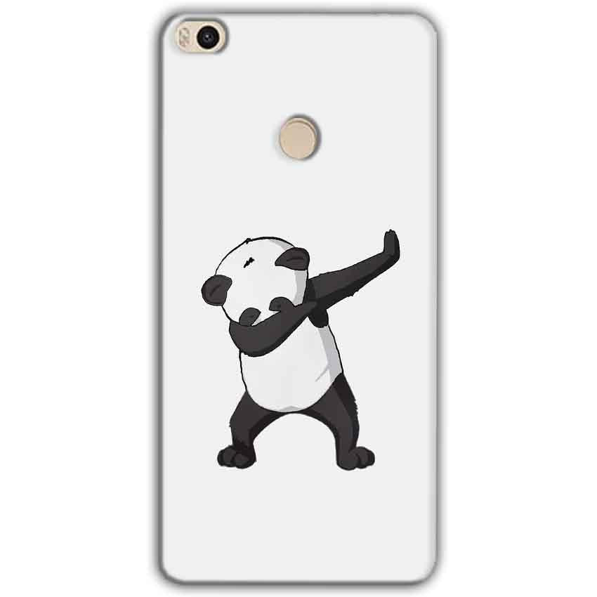 Xiaomi Mi Max 2 Mobile Covers Cases Panda Dab - Lowest Price - Paybydaddy.com