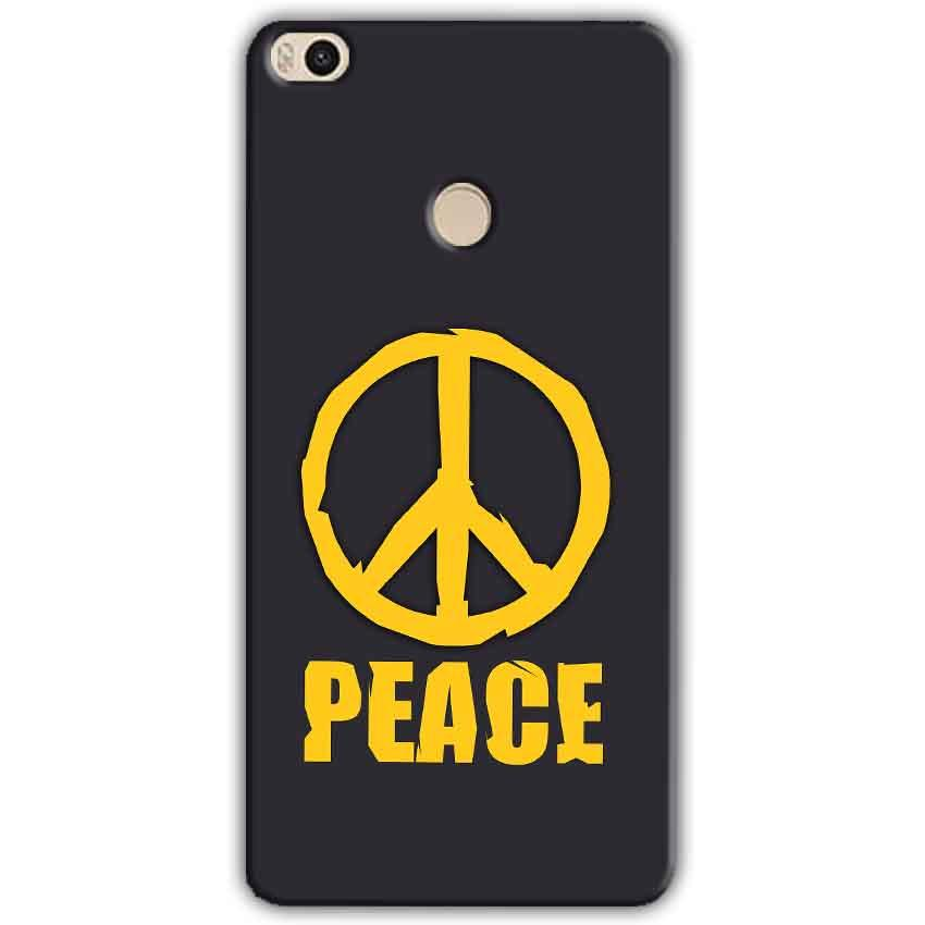 Xiaomi Mi Max 2 Mobile Covers Cases Peace Blue Yellow - Lowest Price - Paybydaddy.com
