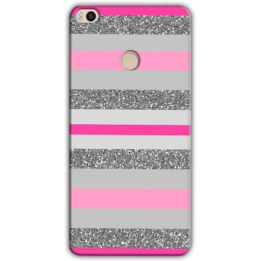 Xiaomi Mi Max 2 Mobile Covers Cases Pink colour pattern - Lowest Price - Paybydaddy.com