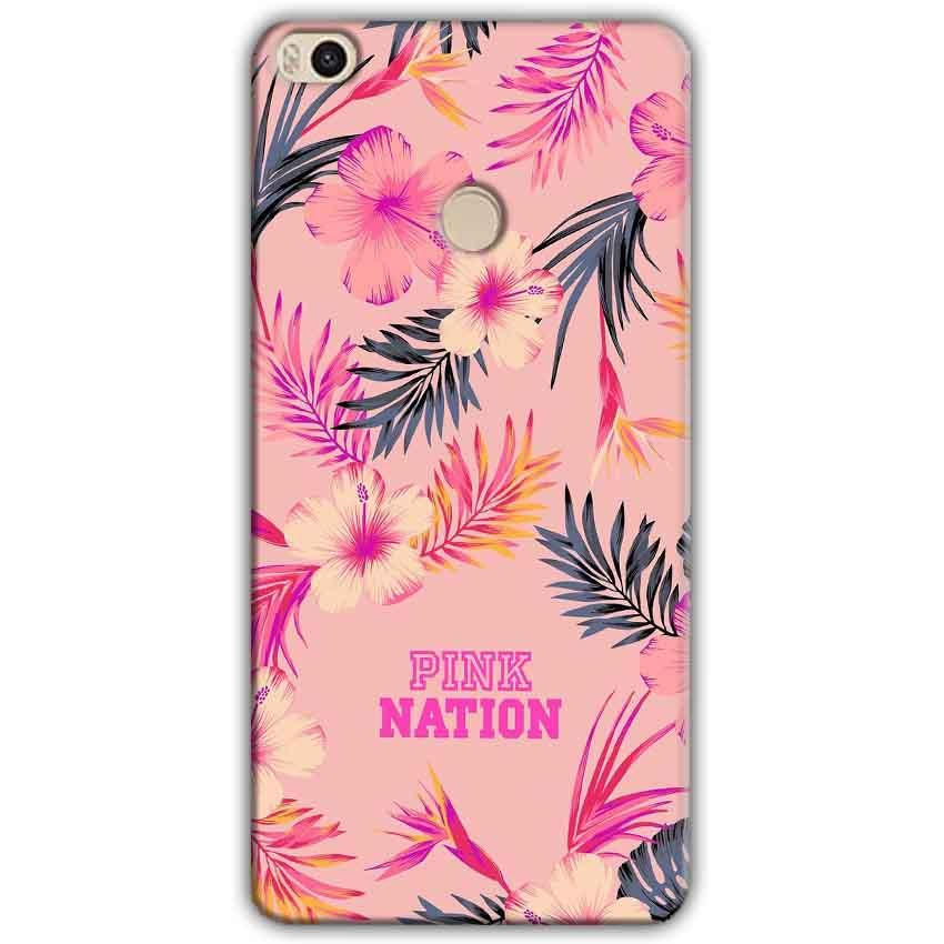 Xiaomi Mi Max 2 Mobile Covers Cases Pink nation - Lowest Price - Paybydaddy.com