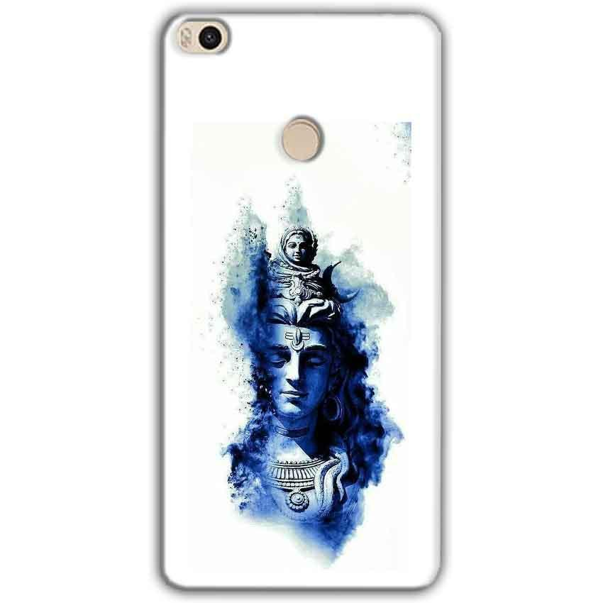 Xiaomi Mi Max 2 Mobile Covers Cases Shiva Blue White - Lowest Price - Paybydaddy.com