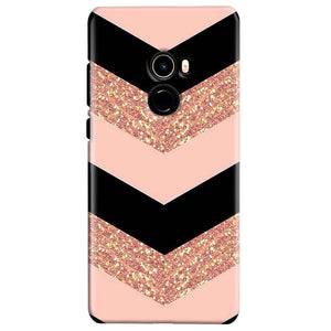 Xiaomi Mi Mix 2 Mobile Covers Cases Black down arrow Pattern - Lowest Price - Paybydaddy.com