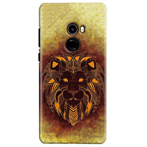 Xiaomi Mi Mix 2 Mobile Covers Cases Lion face art - Lowest Price - Paybydaddy.com