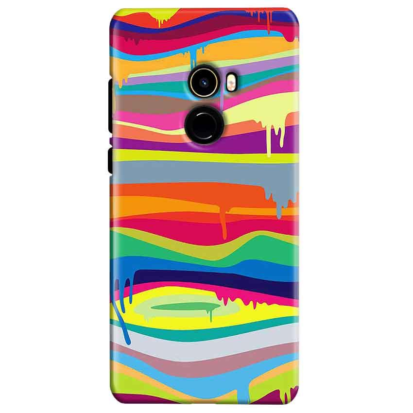 Xiaomi Mi Mix 2 Mobile Covers Cases Melted colours - Lowest Price - Paybydaddy.com