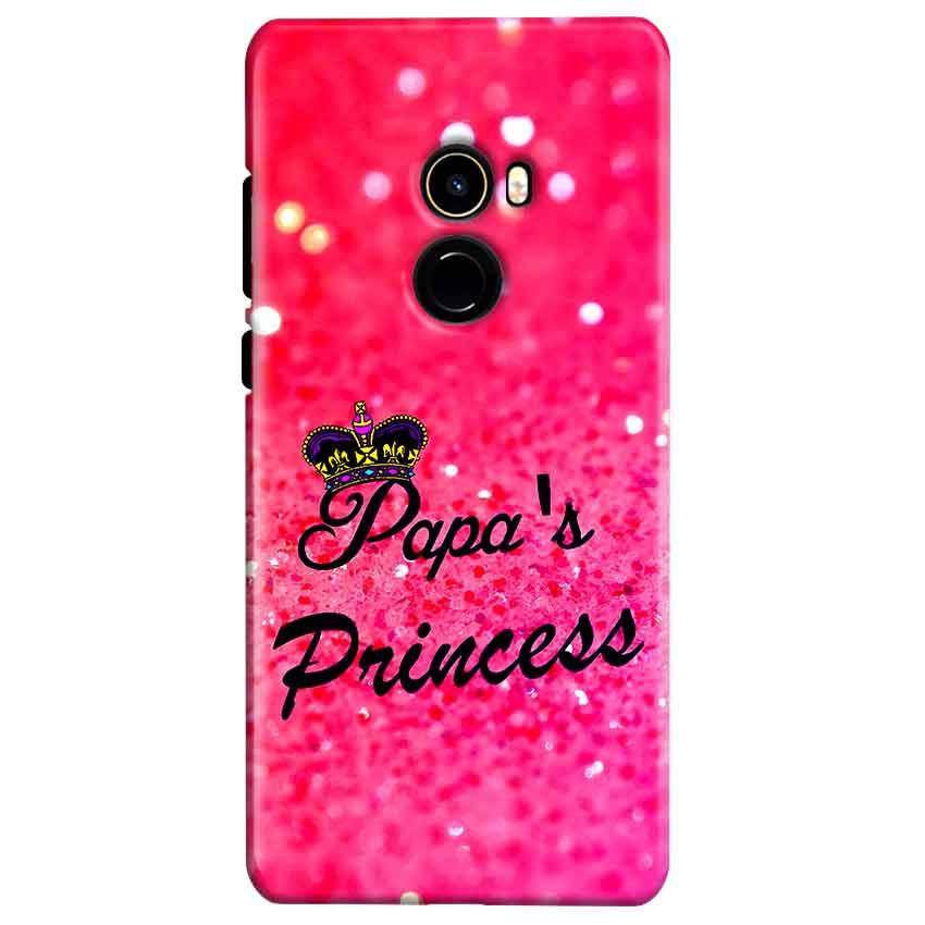 Xiaomi Mi Mix 2 Mobile Covers Cases PAPA PRINCESS - Lowest Price - Paybydaddy.com