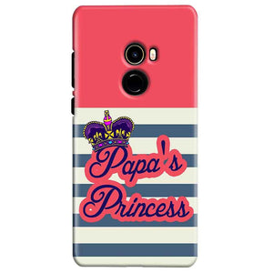 Xiaomi Mi Mix 2 Mobile Covers Cases Papas Princess - Lowest Price - Paybydaddy.com