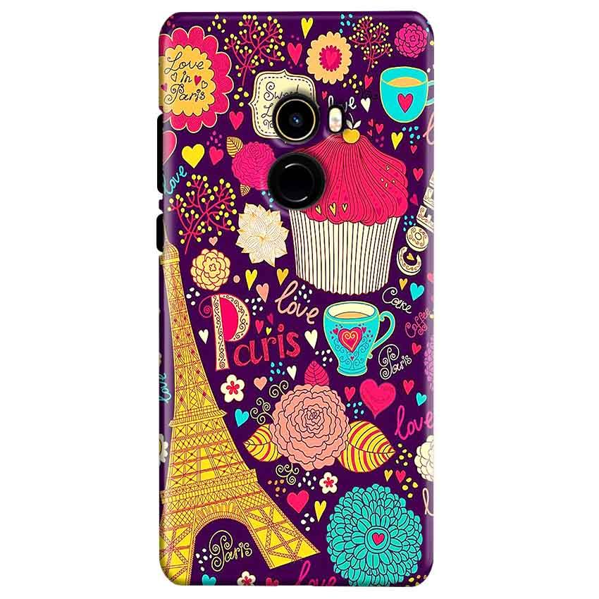 Xiaomi Mi Mix 2 Mobile Covers Cases Paris Sweet love - Lowest Price - Paybydaddy.com