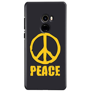 Xiaomi Mi Mix 2 Mobile Covers Cases Peace Blue Yellow - Lowest Price - Paybydaddy.com