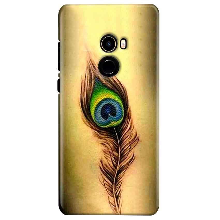 Xiaomi Mi Mix 2 Mobile Covers Cases Peacock coloured art - Lowest Price - Paybydaddy.com