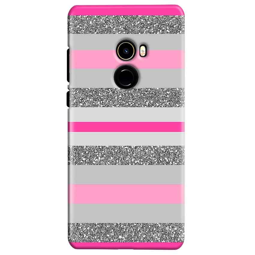 Xiaomi Mi Mix 2 Mobile Covers Cases Pink colour pattern - Lowest Price - Paybydaddy.com