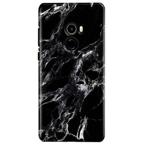 Xiaomi Mi Mix 2 Mobile Covers Cases Pure Black Marble Texture - Lowest Price - Paybydaddy.com