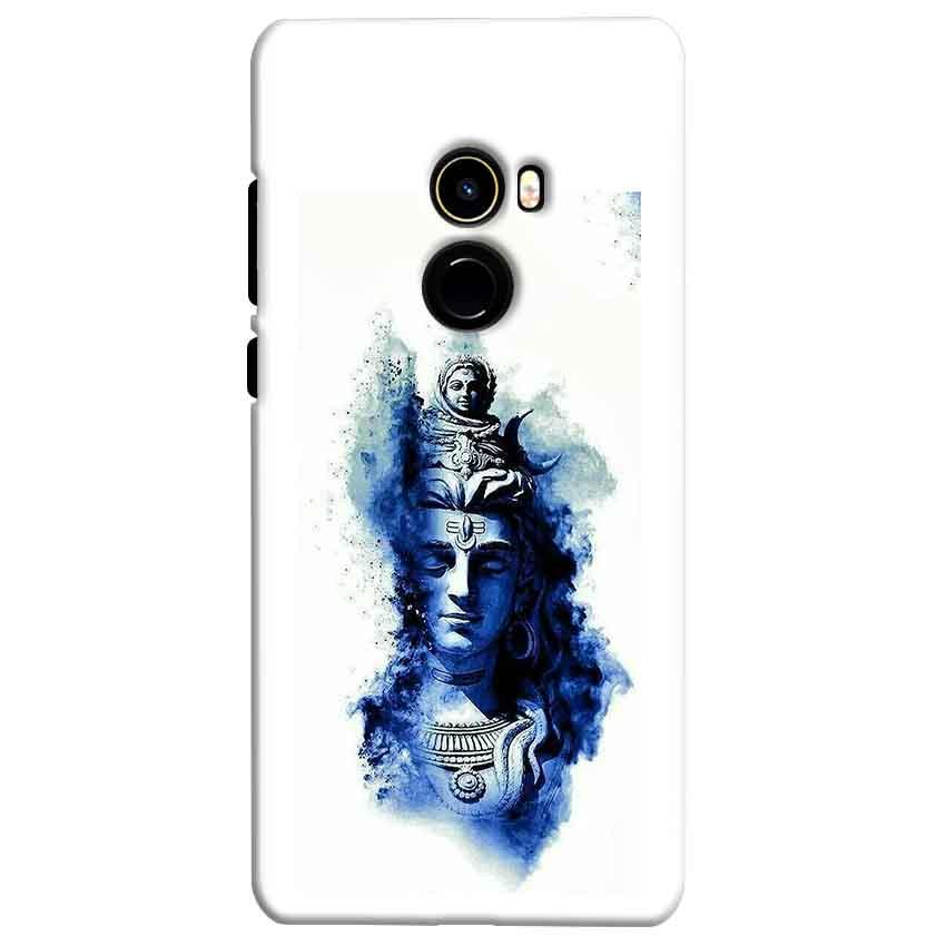 Xiaomi Mi Mix 2 Mobile Covers Cases Shiva Blue White - Lowest Price - Paybydaddy.com