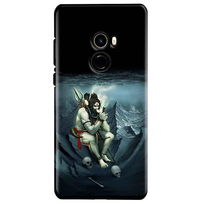Xiaomi Mi Mix 2 Mobile Covers Cases Shiva Smoking - Lowest Price - Paybydaddy.com