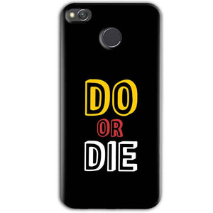 Xiaomi Redmi 3S Prime Mobile Covers Cases DO OR DIE - Lowest Price - Paybydaddy.com