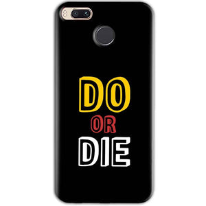 Xiaomi Redmi A1 Mobile Covers Cases DO OR DIE - Lowest Price - Paybydaddy.com