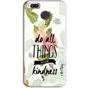 Xiaomi Redmi A1 Mobile Covers Cases Do all things with kindness - Lowest Price - Paybydaddy.com