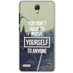 Xiaomi Redmi Note 4G Mobile Covers Cases Donot Prove yourself - Lowest Price - Paybydaddy.com