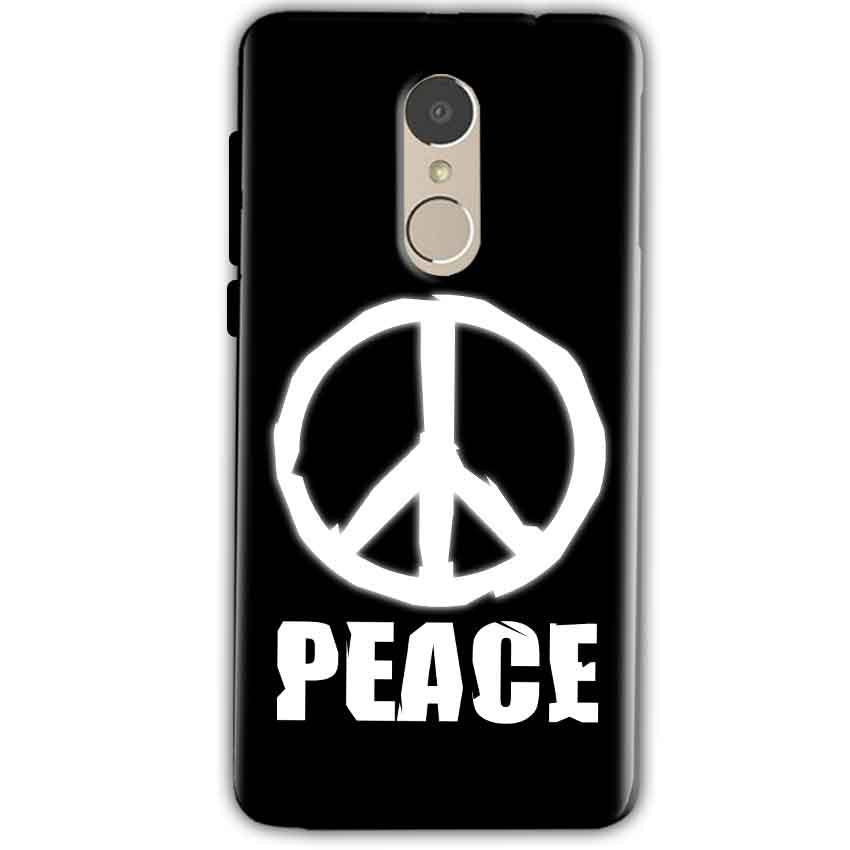 Xiaomi Redmi Note 4 Mobile Covers Cases Peace Sign In White - Lowest Price - Paybydaddy.com