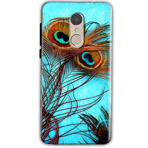 Xiaomi Redmi Note 4 Mobile Covers Cases Peacock blue wings - Lowest Price - Paybydaddy.com