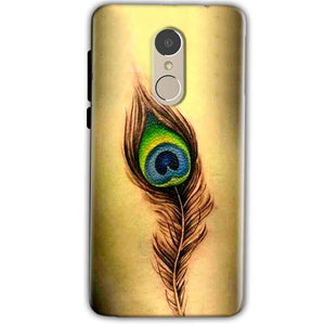 Xiaomi Redmi Note 4 Mobile Covers Cases Peacock coloured art - Lowest Price - Paybydaddy.com