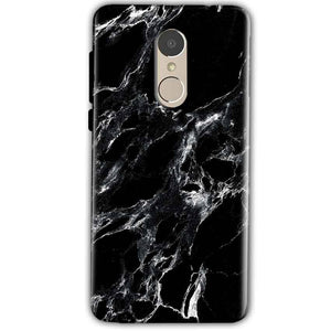 Xiaomi Redmi Note 4 Mobile Covers Cases Pure Black Marble Texture - Lowest Price - Paybydaddy.com