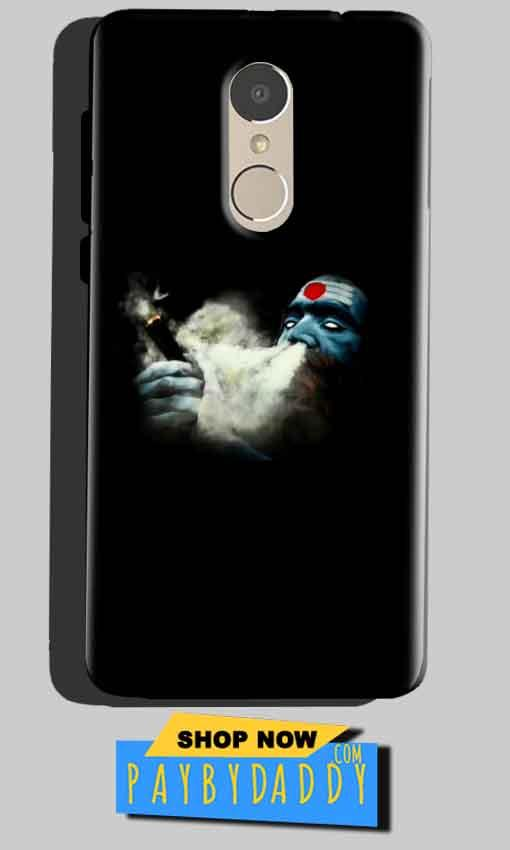 Xiaomi Redmi Note 4 Mobile Covers Cases Shiva Aghori Smoking - Lowest Price - Paybydaddy.com