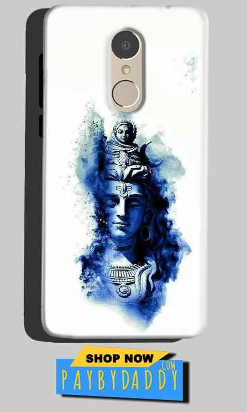 Xiaomi Redmi Note 4 Mobile Covers Cases Shiva Blue White - Lowest Price - Paybydaddy.com