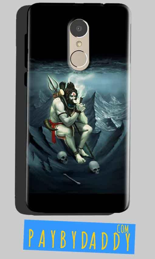 Xiaomi Redmi Note 4 Mobile Covers Cases Shiva Smoking - Lowest Price - Paybydaddy.com