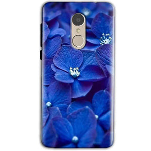 Xiaomi Redmi Note 5 Mobile Covers Cases Blue flower - Lowest Price - Paybydaddy.com